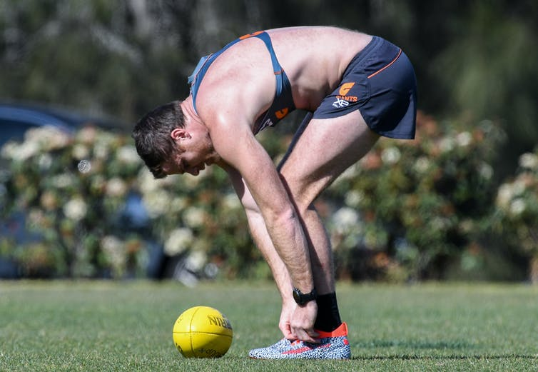 the worrying body-image pressures in the AFL