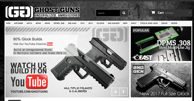 From gun kits to 3D printable guns, a short history of rogue gun makers