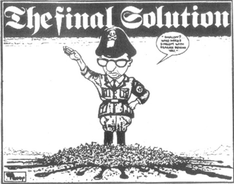 Image result for NAZI Final Solution CARTOON