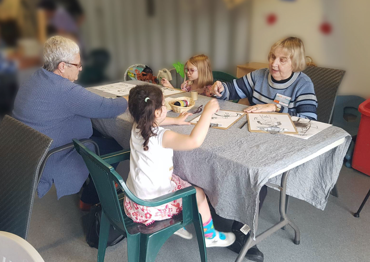 A new project shows combining childcare and aged care has social and economic benefits