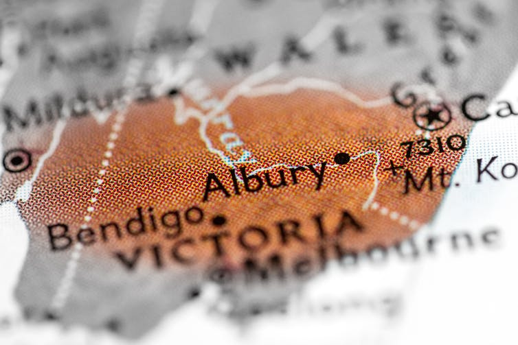 The Whitlam government had a policy for cities such as Albury to house over 100,000 people (image: shutterstock.com)