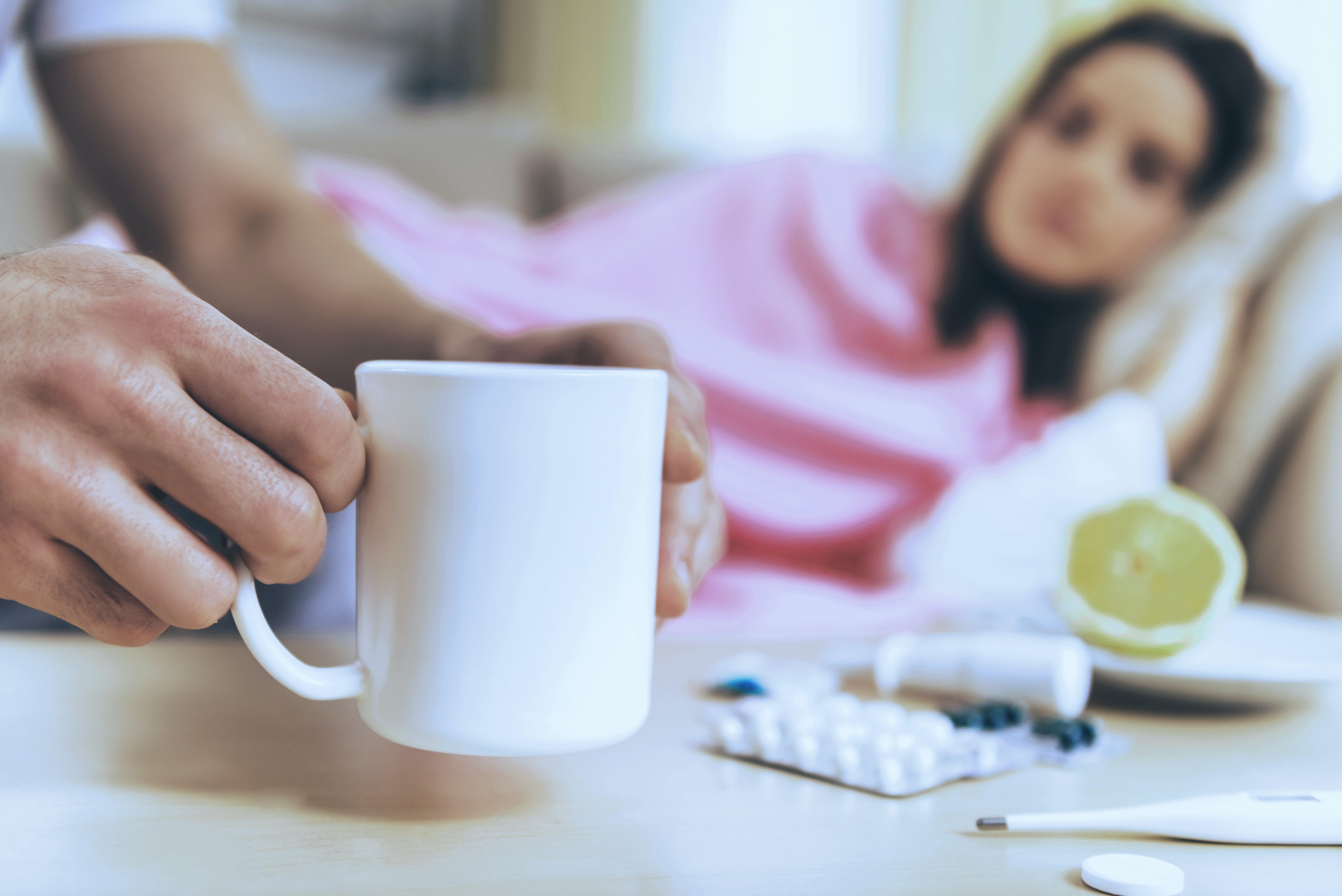 A strong immune system helps ward off colds and flus, but it's not the only factor