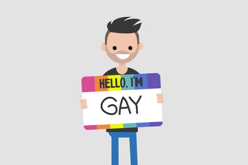 Coming out at work is not a one-off event