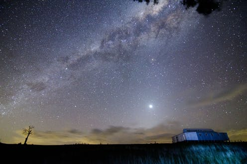 Aboriginal traditions describe the complex motions of planets, the