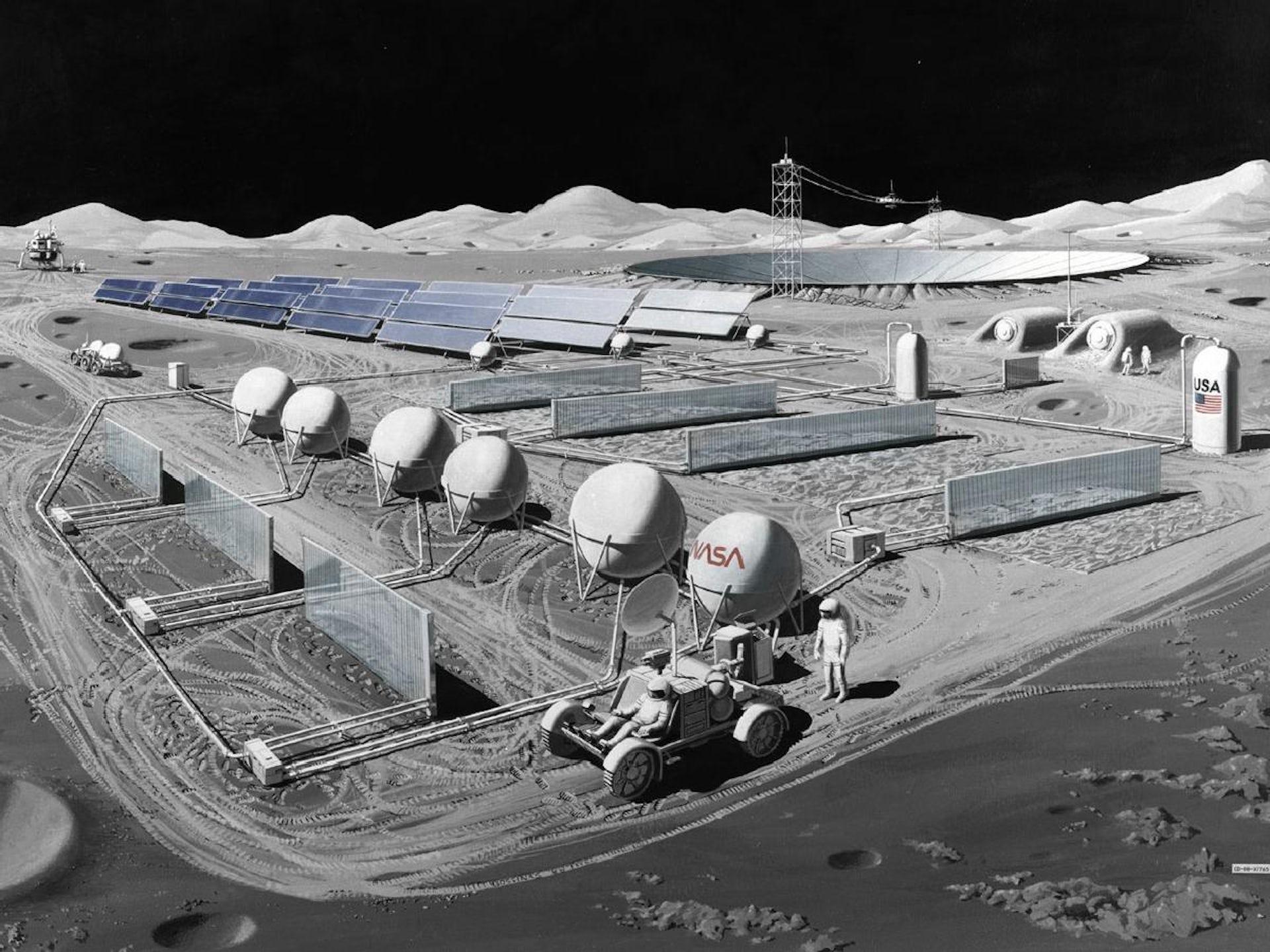 NASA lunar observatory