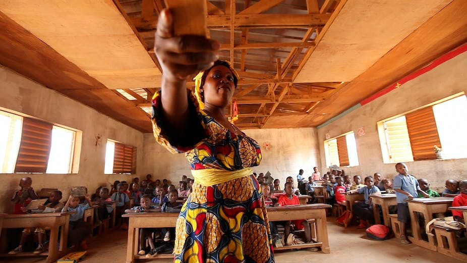 Collaboration Is Helping Teachers In Rural Cameroon Fill