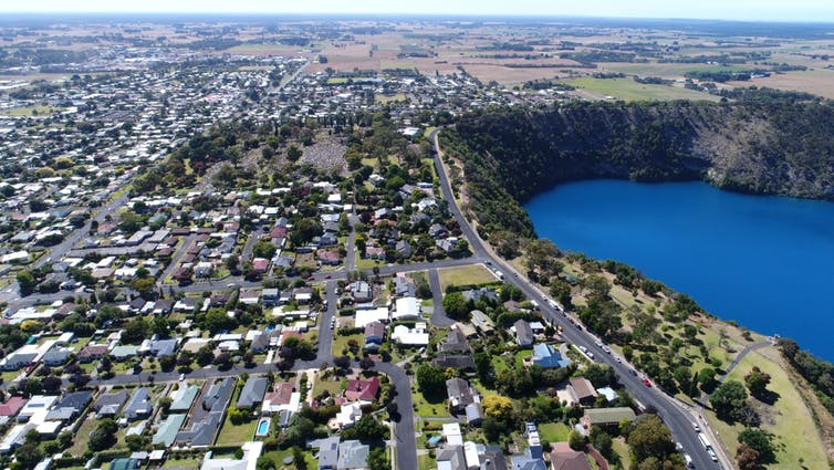 Mt Gambier's Blue Lake