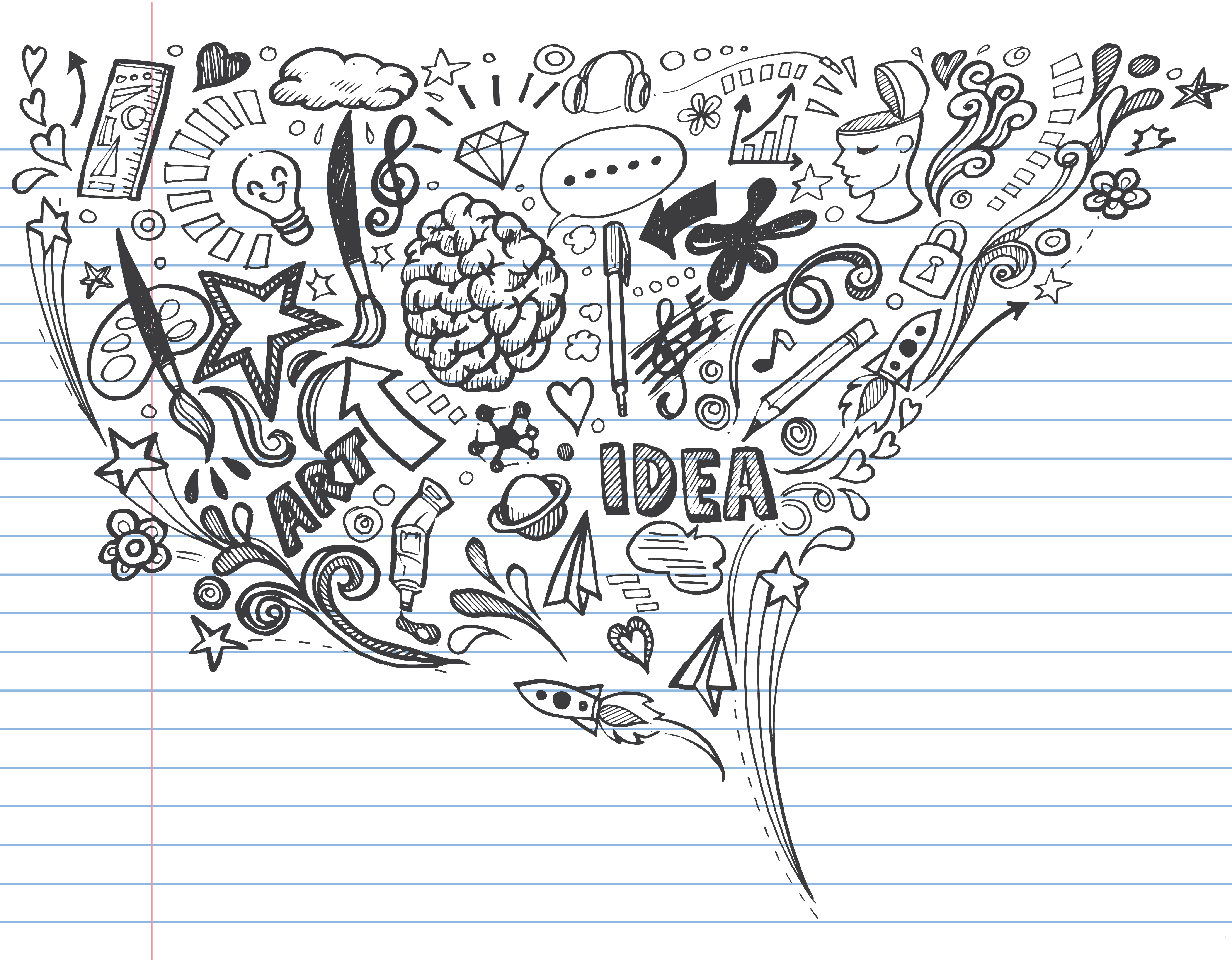 the science of multitasking  and why you should doodle in class