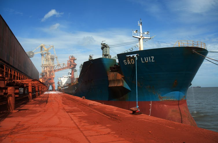 Mystery of the cargo ships that sink when their cargo