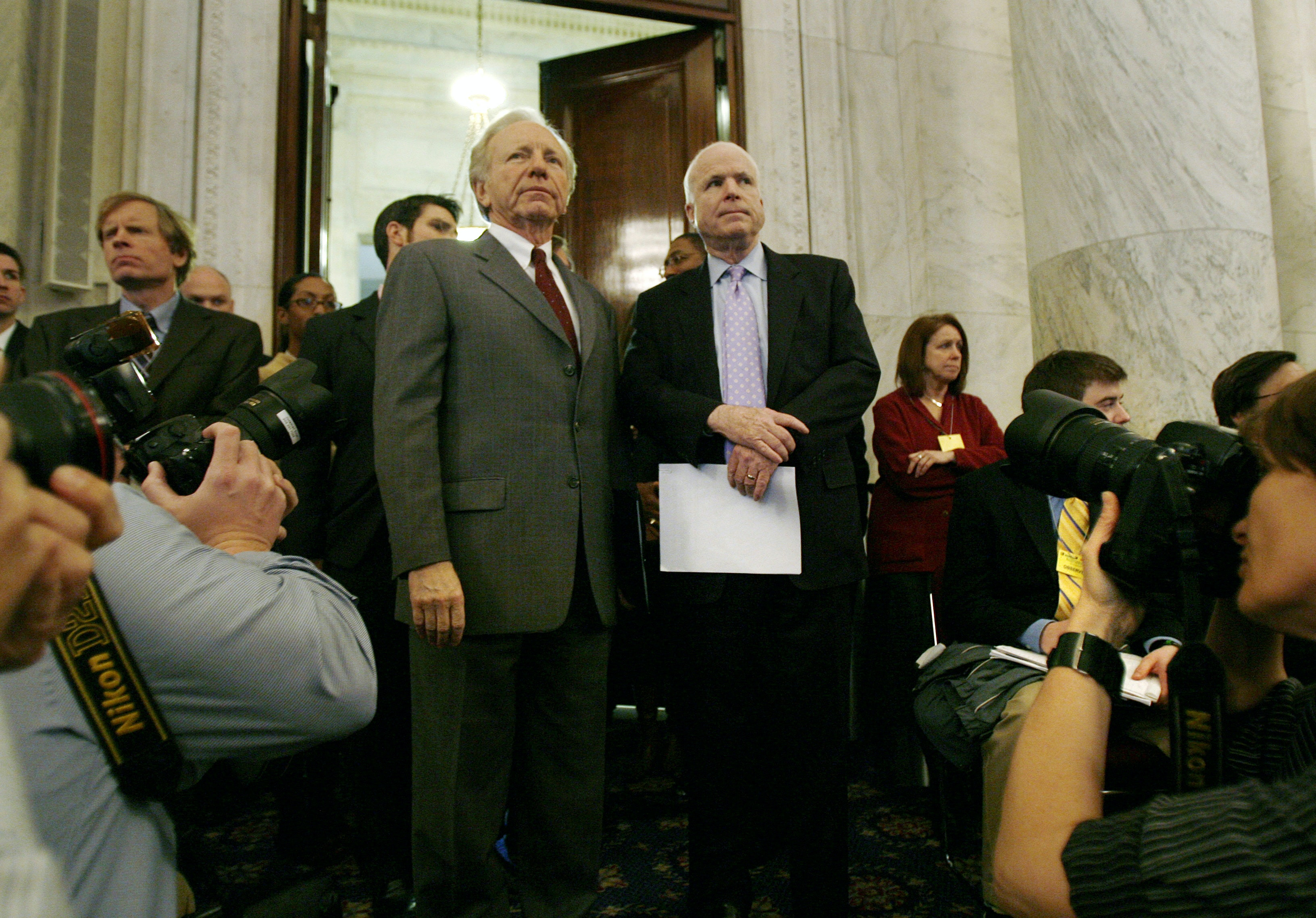 Will John McCain be the last Republican leader in the Senate to address climate change?