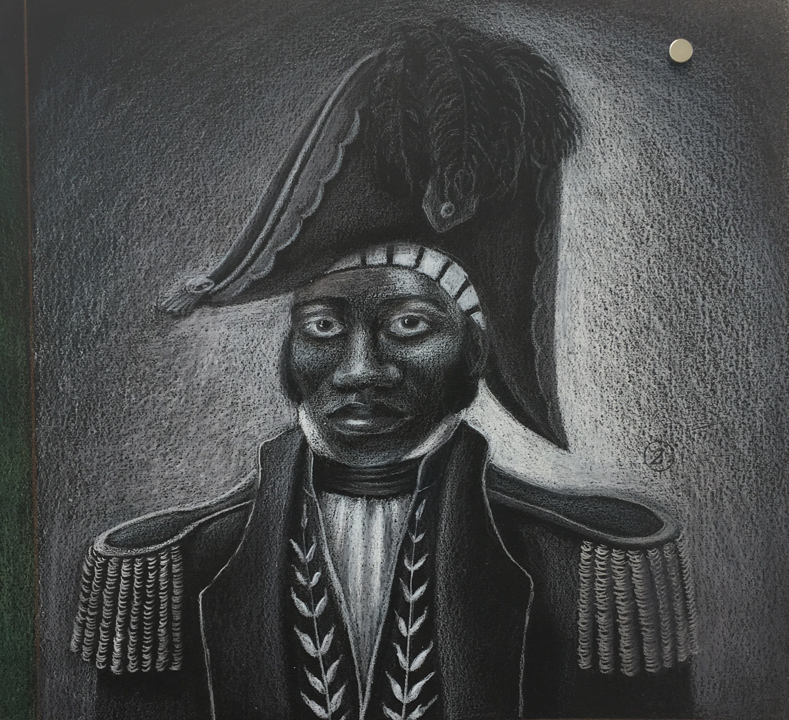 Jean-Jacques Dessalines, Haiti's founding father. Book of Paintings by Renée Stout.