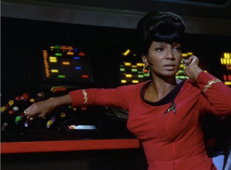 Nervous about how southern television viewers would react, NBC executives closely monitored the filming of the kiss between Nichelle Nichols and William Shatner.