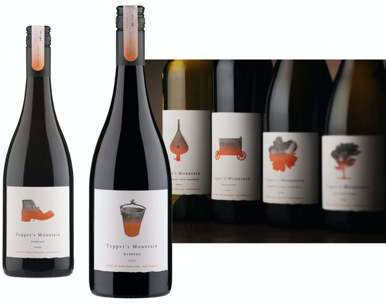 the evolution of the Australian wine label