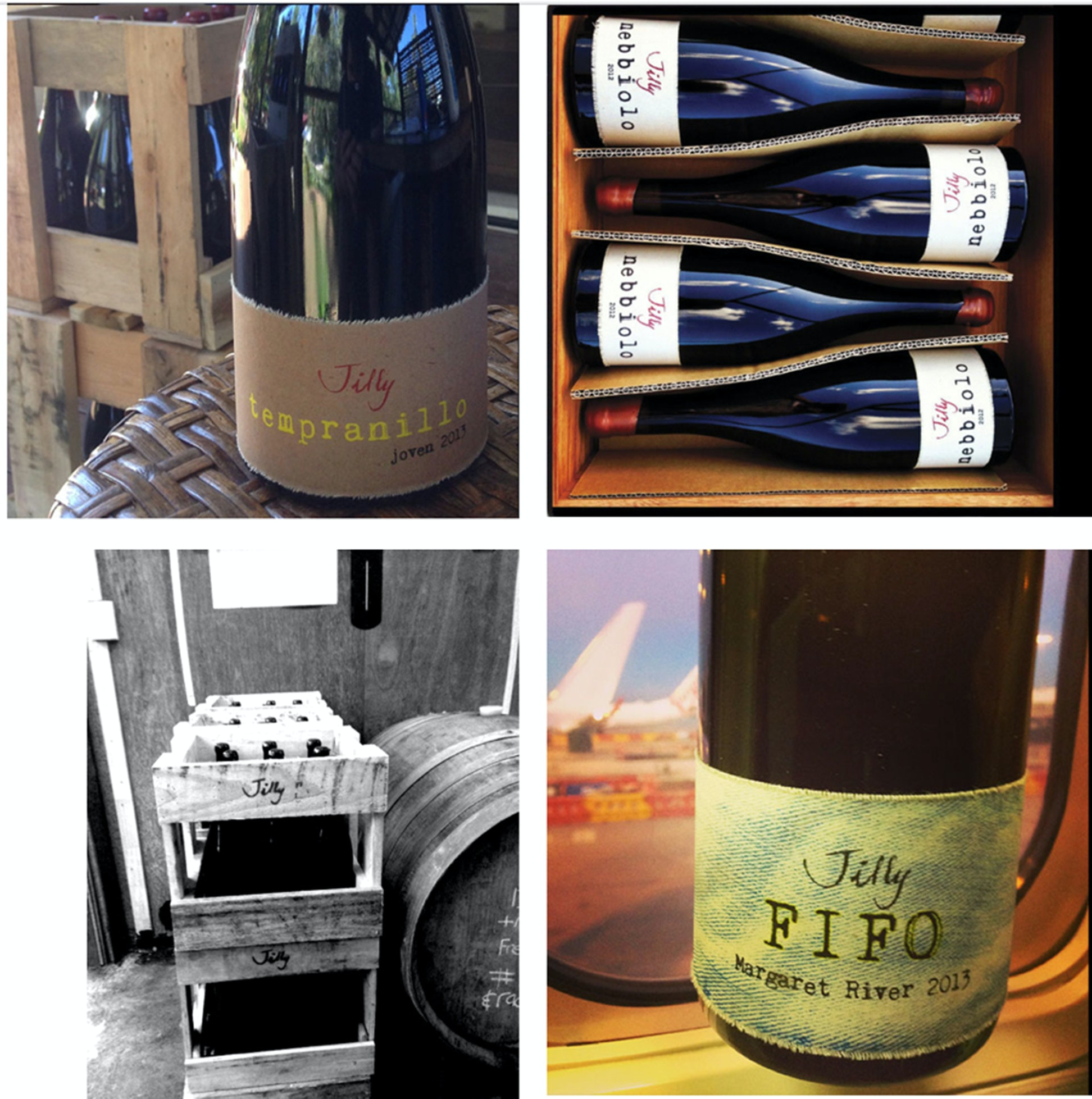 the evolution of the Australian wine label
