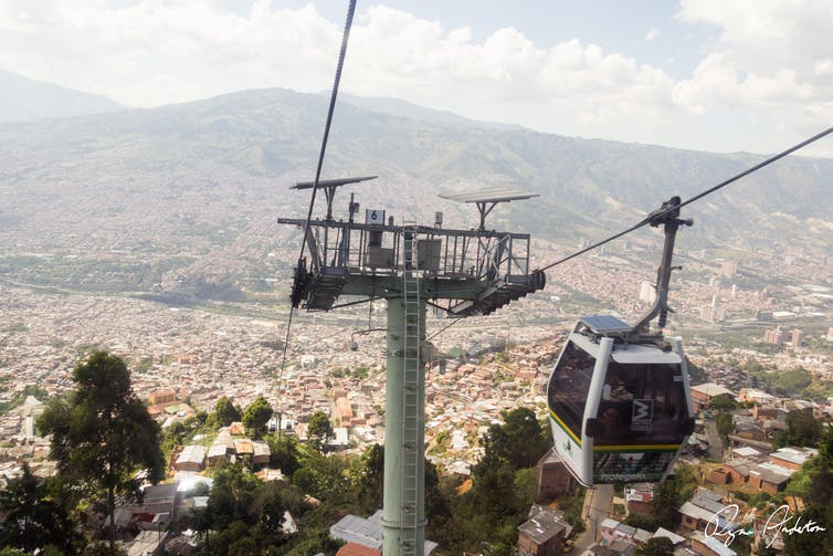 Look up Australia, cable cars could ease our traffic woes