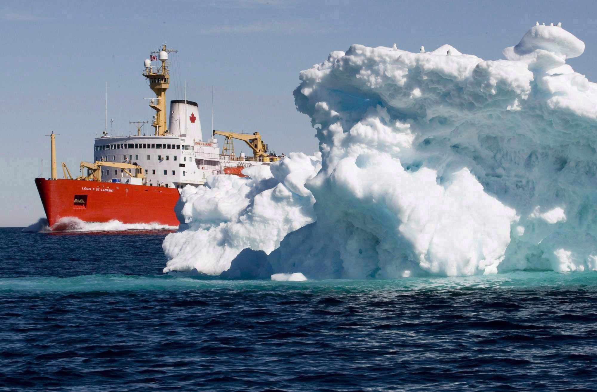 As ice recedes, the Arctic isn't prepared for more shipping traffic
