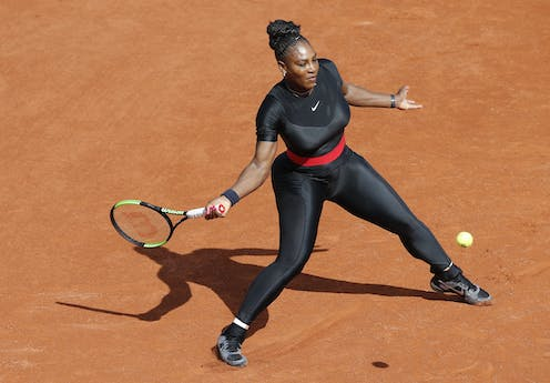 c4afa1d3429439 Serena Williams  catsuit controversy evokes the battle over women wearing  shorts
