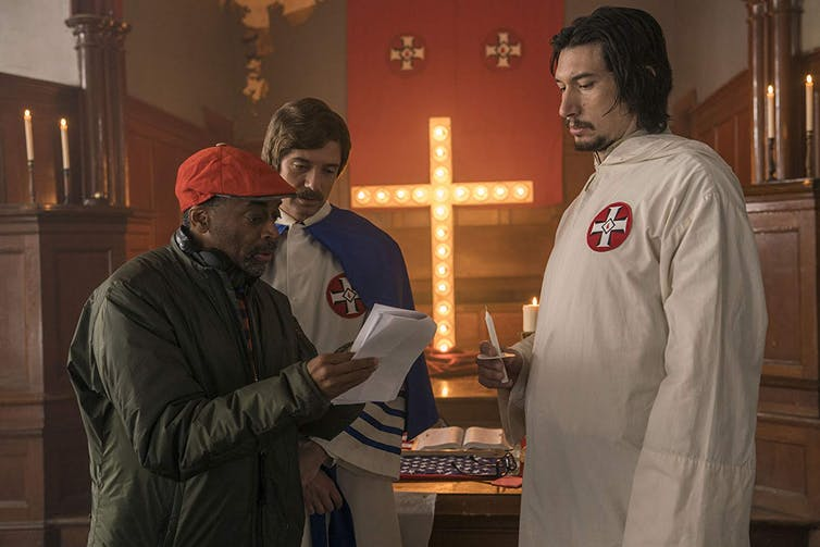 In Spike Lee's BlacKkKlansman, language is power