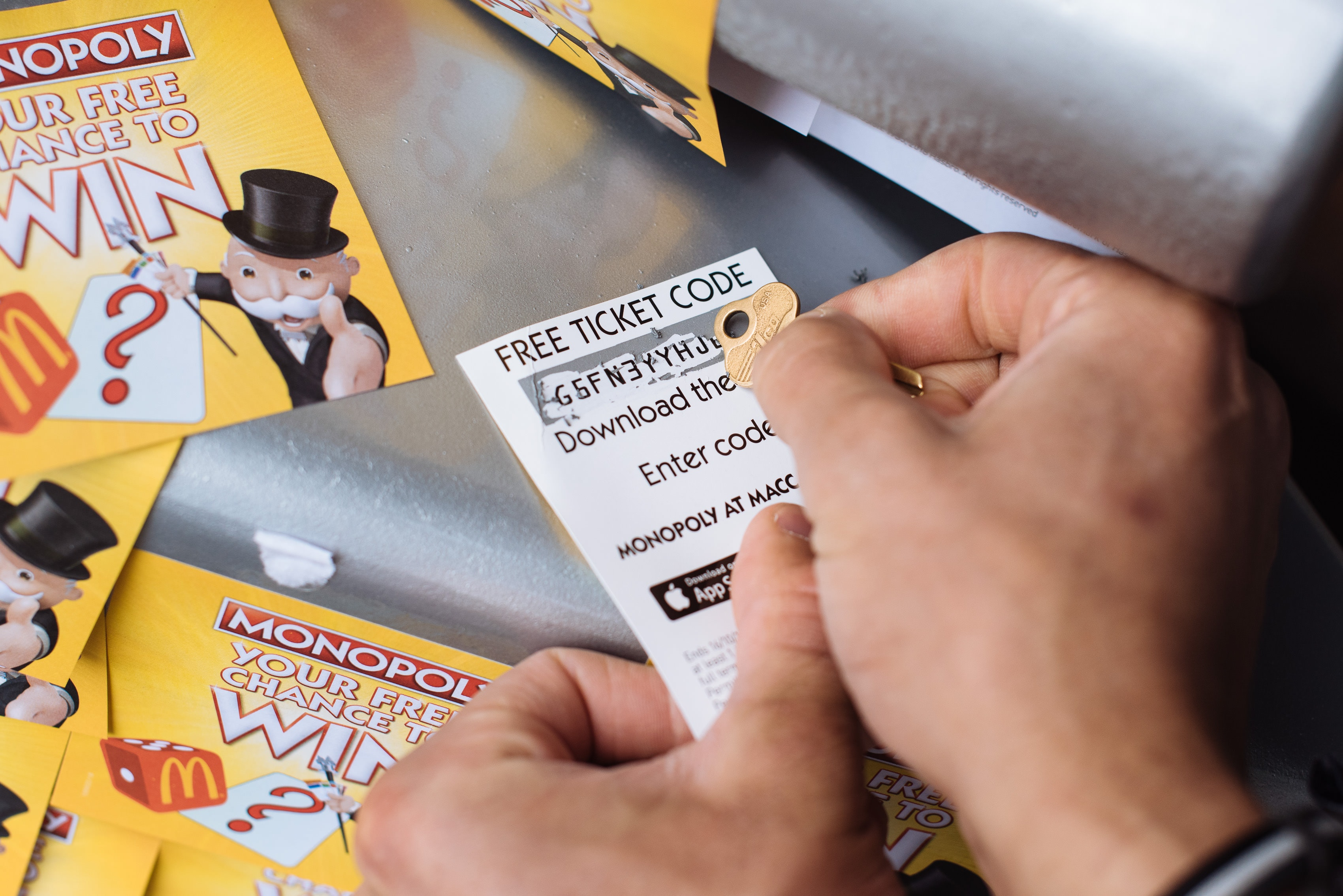 Mcdonalds monopoly 2018 instant win free attraction pass