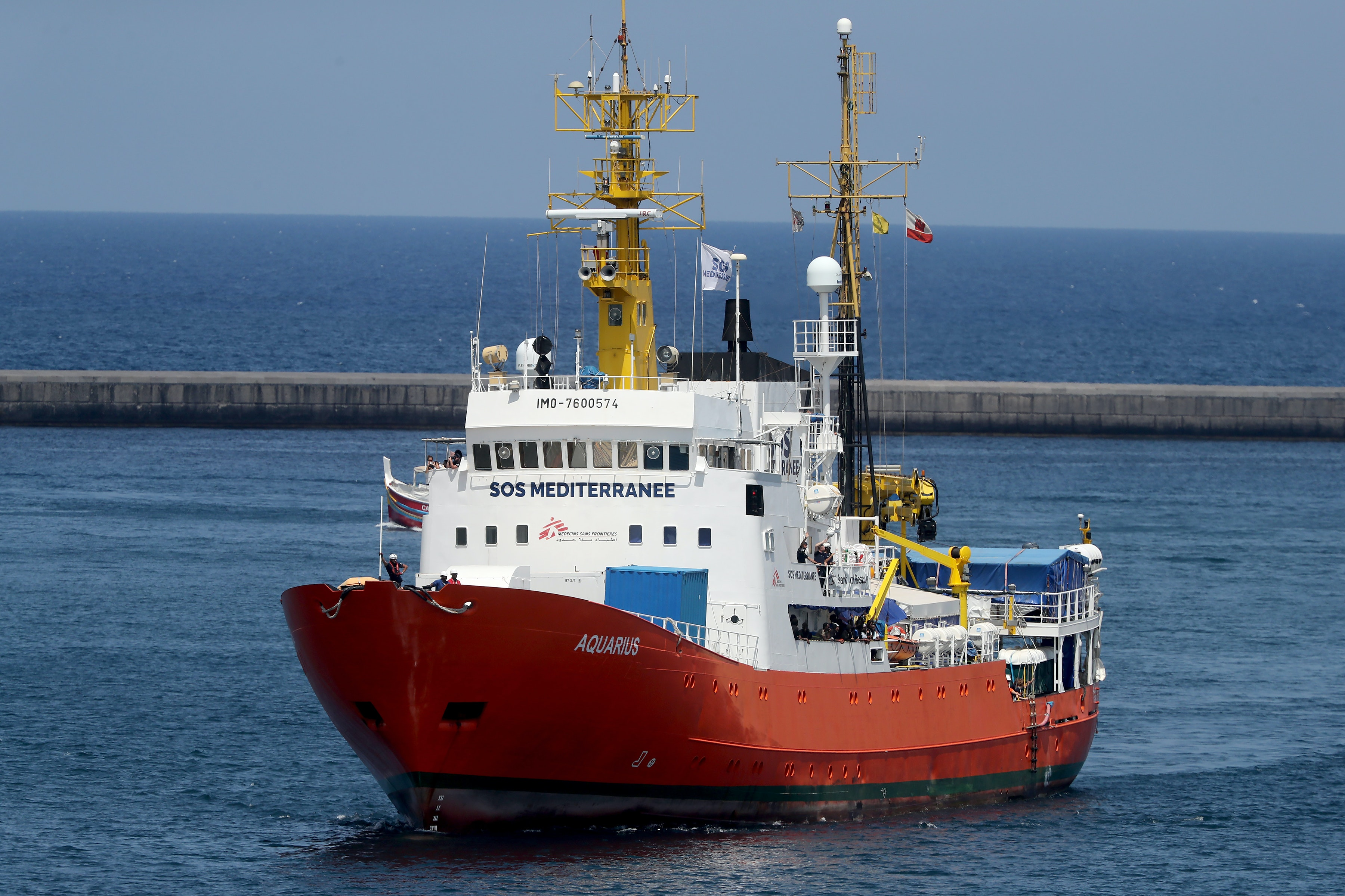 Gibraltar's decision to strip flag from Aquarius rescue ship undermines ancient seafaring principle of solidarity