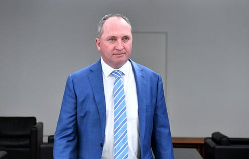 No finding by Nationals in Barnaby Joyce sexual harassment case