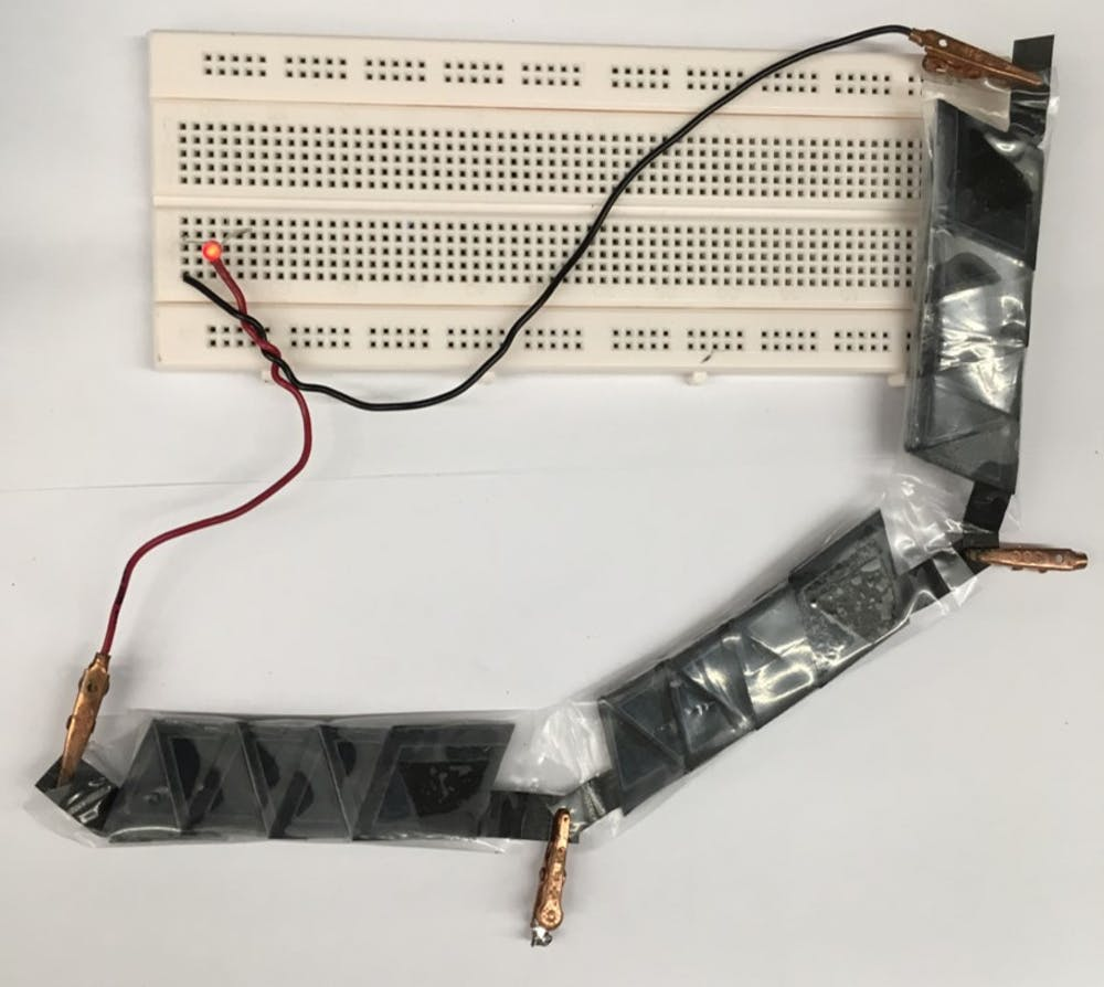 Paper Based Electronics Could Fold Biodegrade And Be The Basis For Printed Circuit Board Technology Inspired Flexible Circuits A Group Of Folded Batteries Can Power Electronic Device Seokheun Choi Binghamton University Cc By Nd