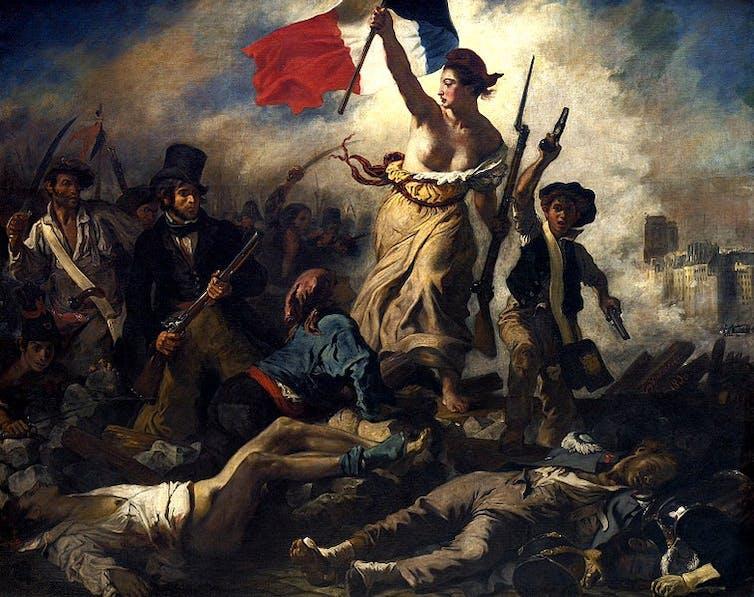 Eugène Delacroix's 'Liberty Leading the People' (1830)