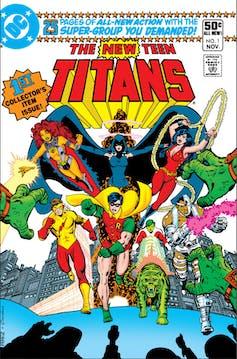 titans tv series dc database