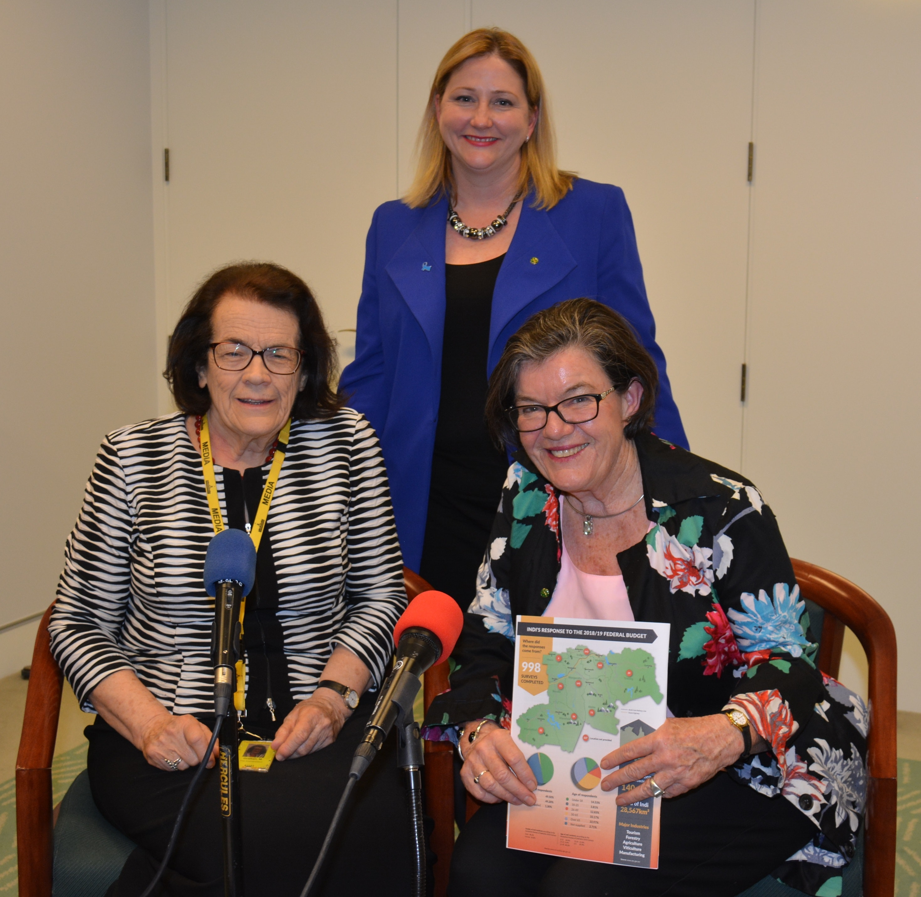 Cathy McGowan and Rebekha Sharkie on the role of community candidates