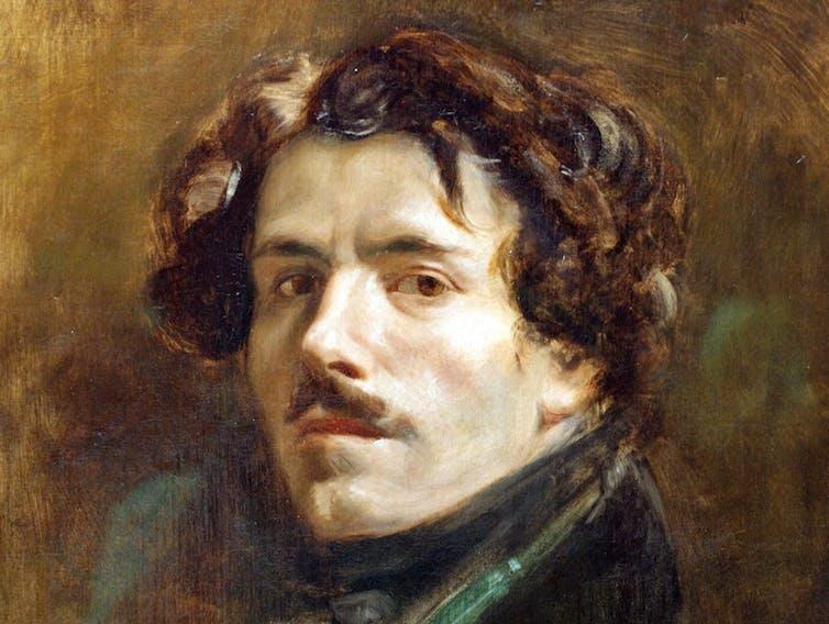 Eugène Delacroix's 'Self-Portrait in a Green Vest' (1837)