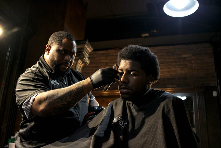 Barbershop Talks: A safe place to discuss Black masculinity
