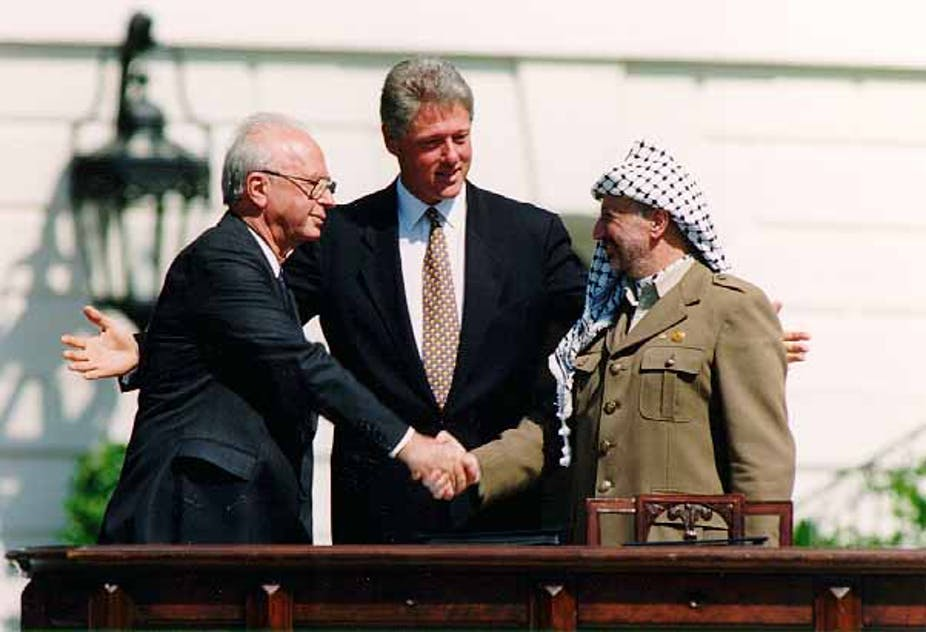 Twenty Five Years After The Oslo Accords The Prospect Of Peace In