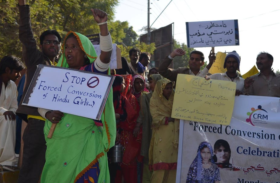 Forced conversions' of Hindu women to Islam in Pakistan