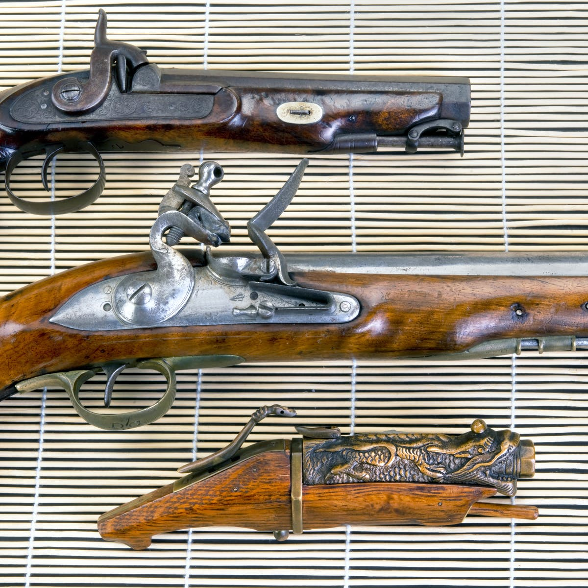 Criminals are using antique weapons due to a loophole in UK law