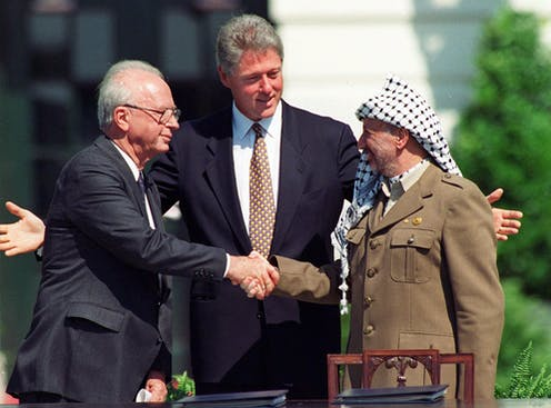 Trump is just the latest U S  president to push Palestine around