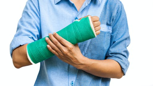 Broke Your Arm Exercise The Other One To Strengthen It
