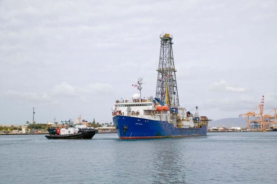 Scientists Find New Vessel For >> Scientists Have Been Drilling Into The Ocean Floor For 50 Years