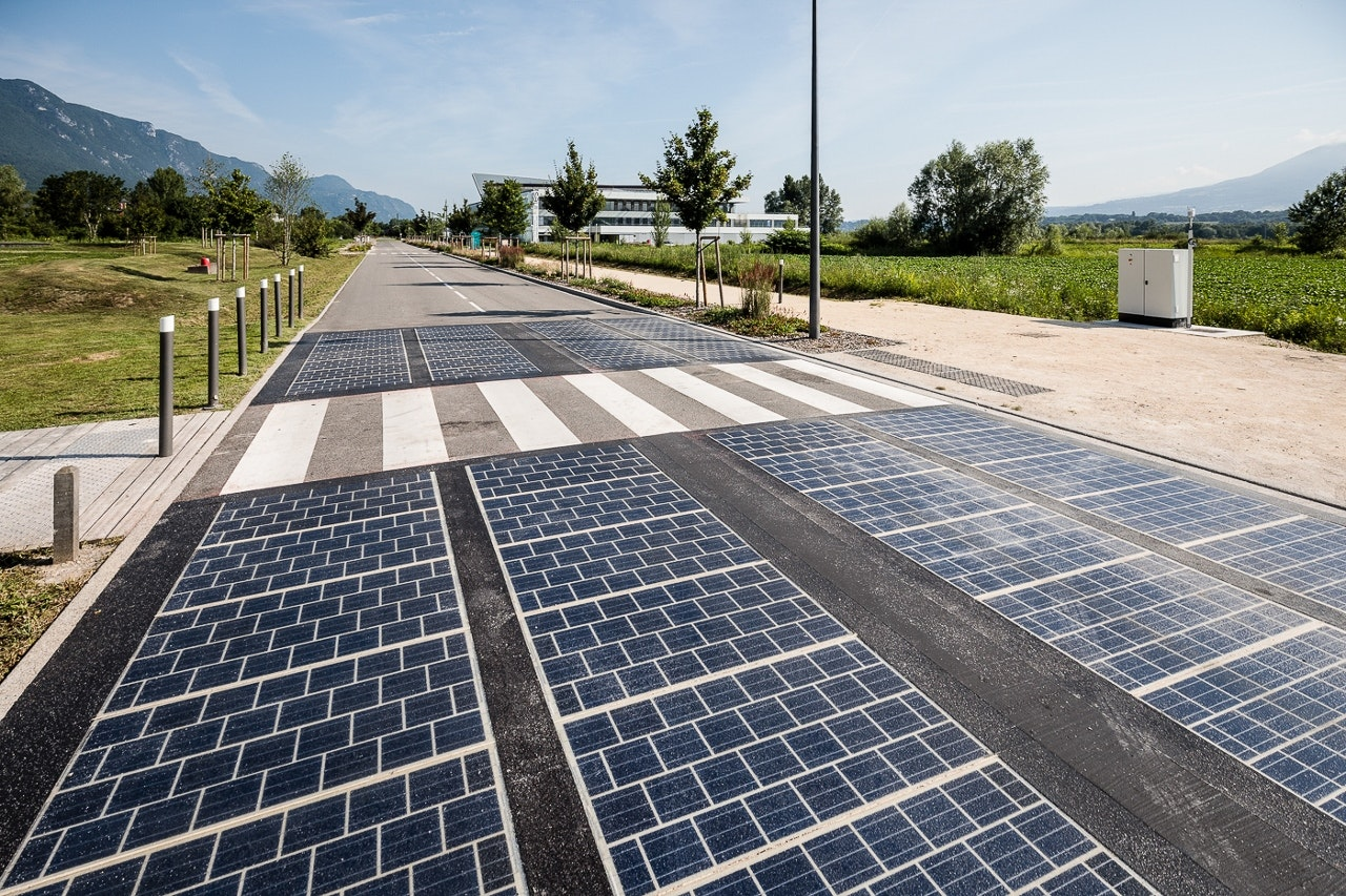 Solar panels replaced tarmac on a road -- here are the results