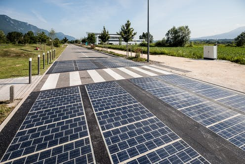 Solar Panels Replaced Tarmac On A Road Here Are The Results