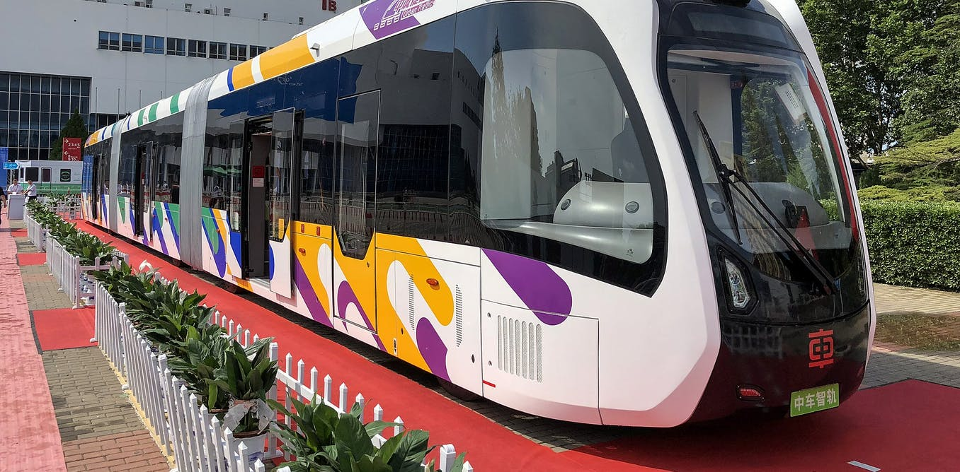 Why trackless trams are ready to replace light rail
