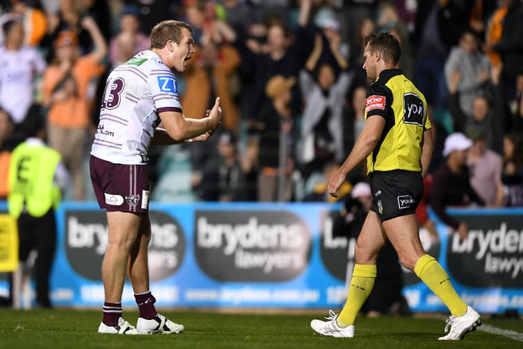 seven reasons you should respect the ref in the NRL Grand Final
