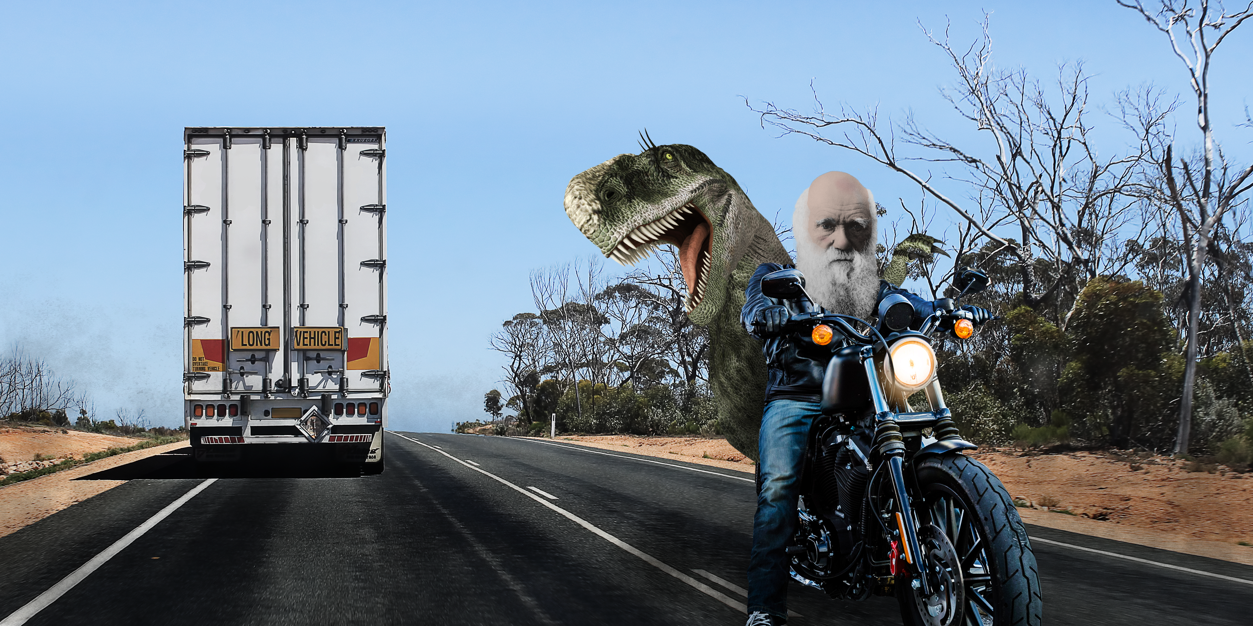 What evolution and motorcycles have in common: let's take a ride across Australia