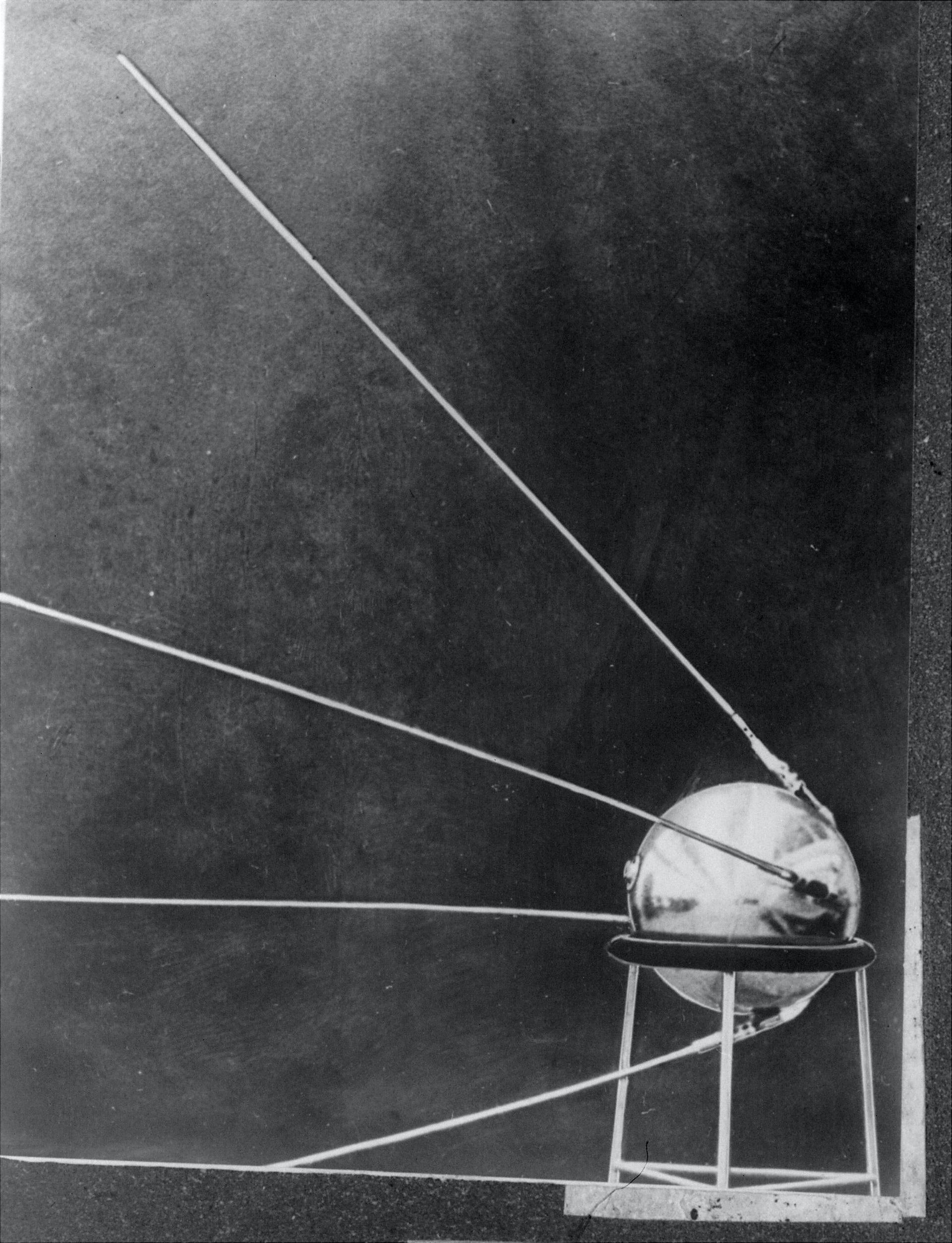 Soviet satellite Sputnik