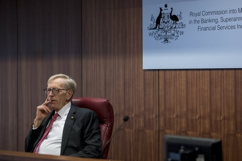 for all its worth, the banking royal commission could hurt a generation of battlers