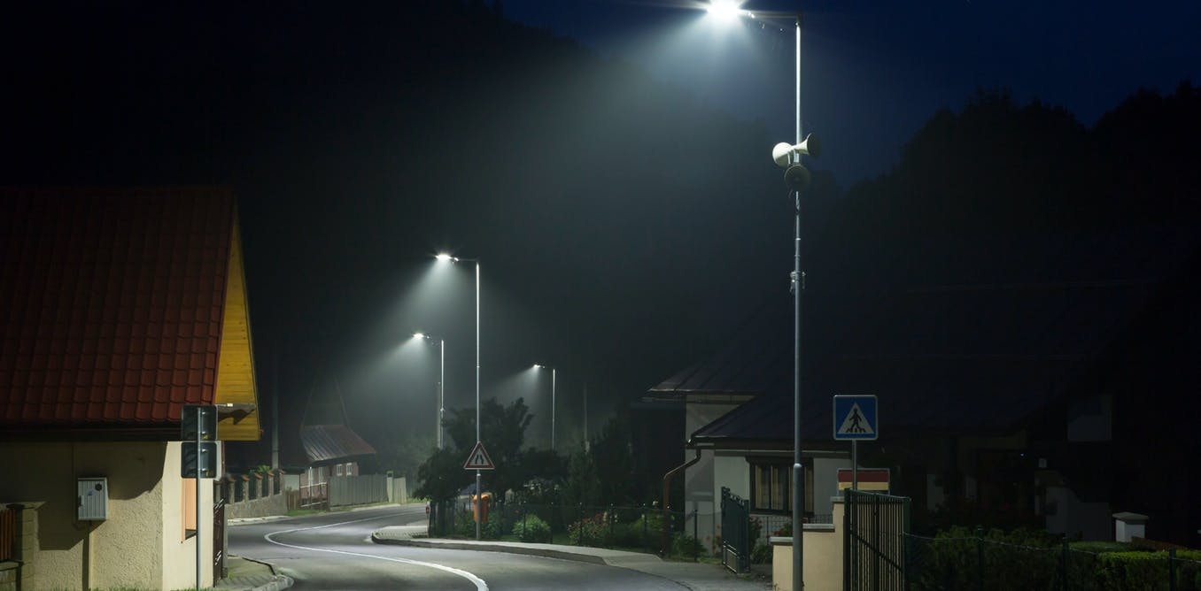 The Science Of Street Lights What Makes People Feel Safe At Night Security Light