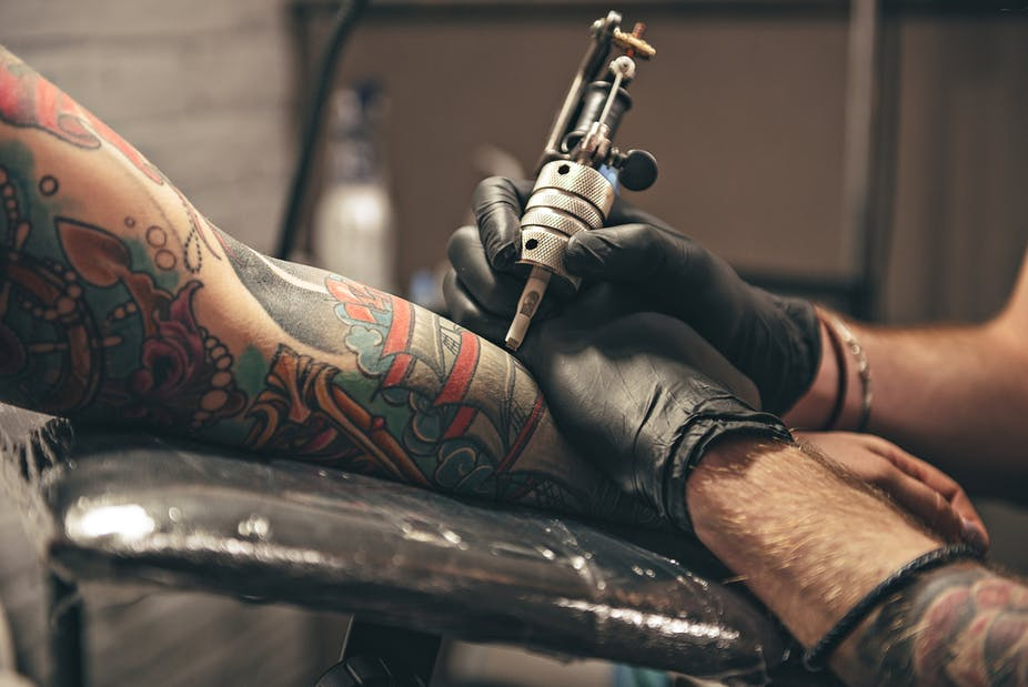 650e1fba48297 London police now allowed visible tattoos – so is body art still rebellious?