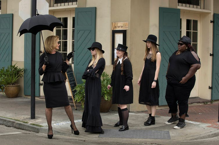 Sabrina the teenage witch is back, with a darker look for our times