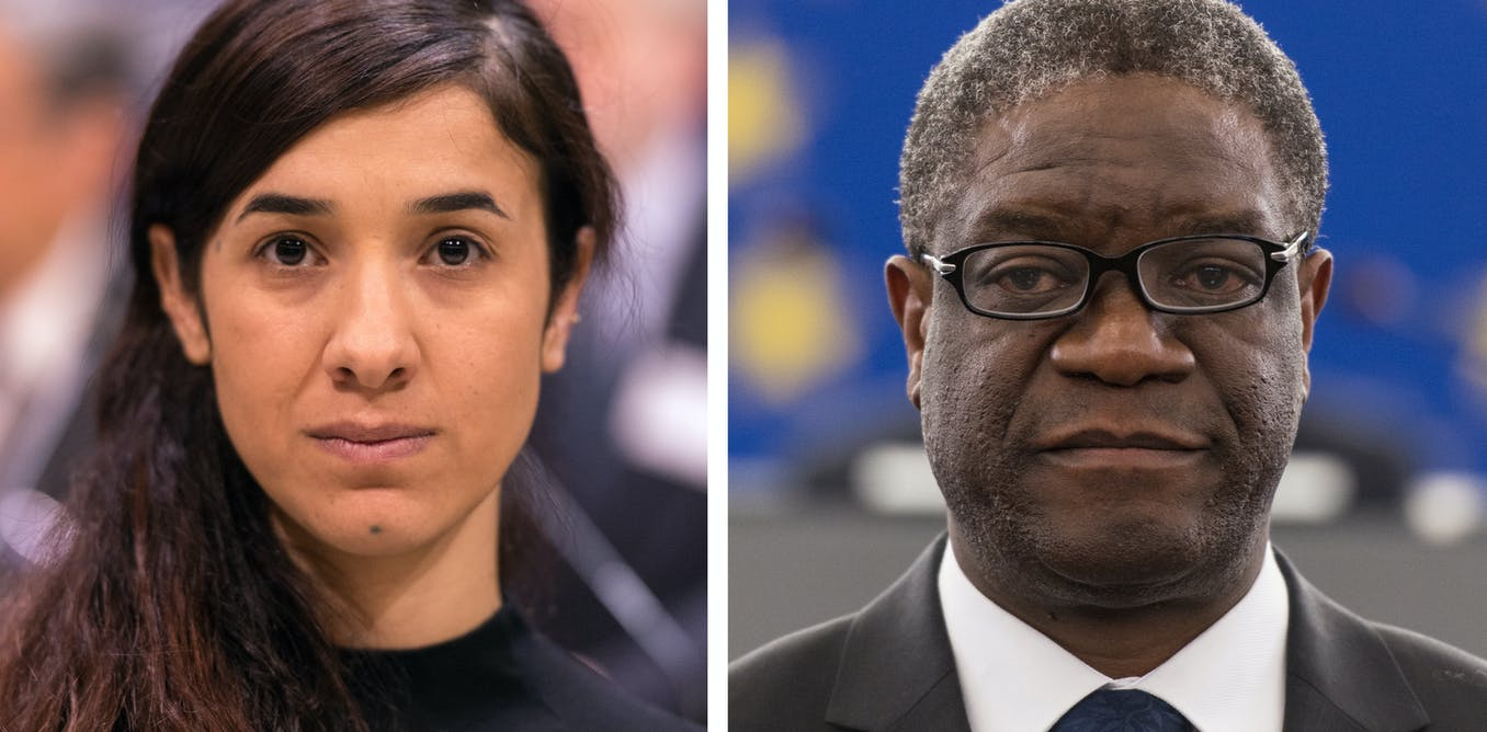 Nobel Peace Prize Awarded To Nadia Murad And Denis Mukwege For Indonesia Campaigns Against Sexual Violence