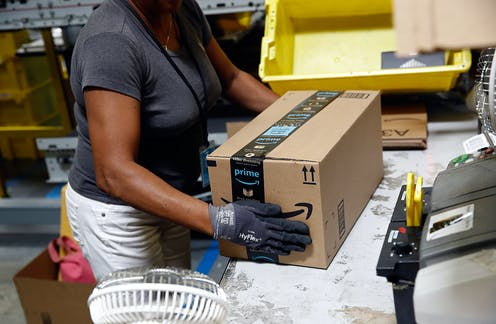 sale retailer 07ba2 18a6c Amazon and other  superstar  companies could give all American workers a  raise