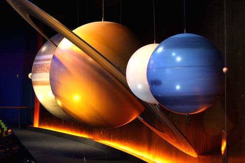 Five in a row - the planets align in the night sky